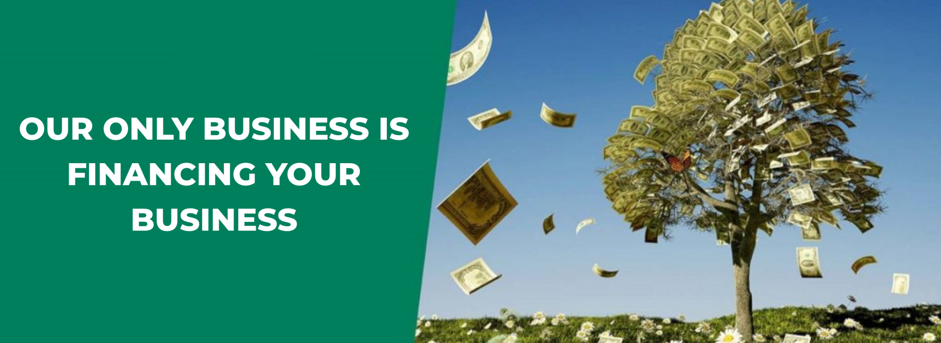 Our only business is financing your business!